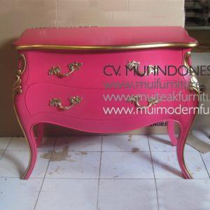 Bombay Pink Commode