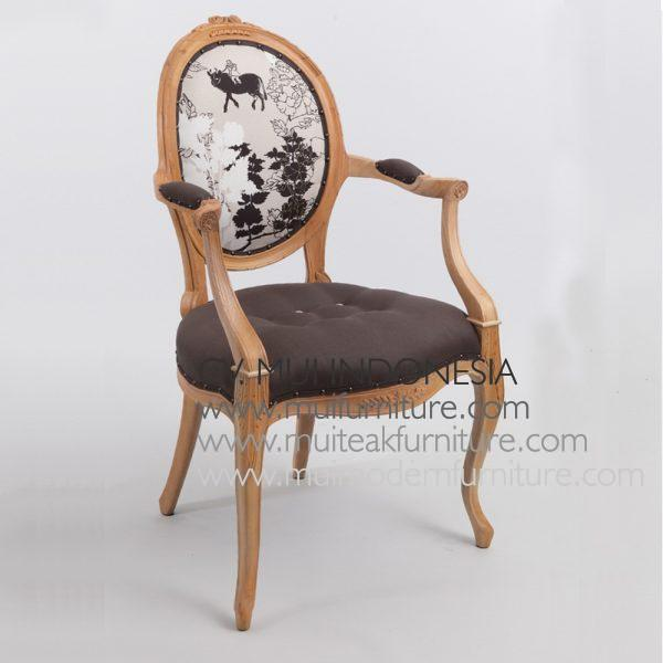 Careo Arm Chair -Nude