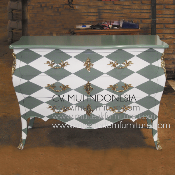 Chest Commode 3 Drawer