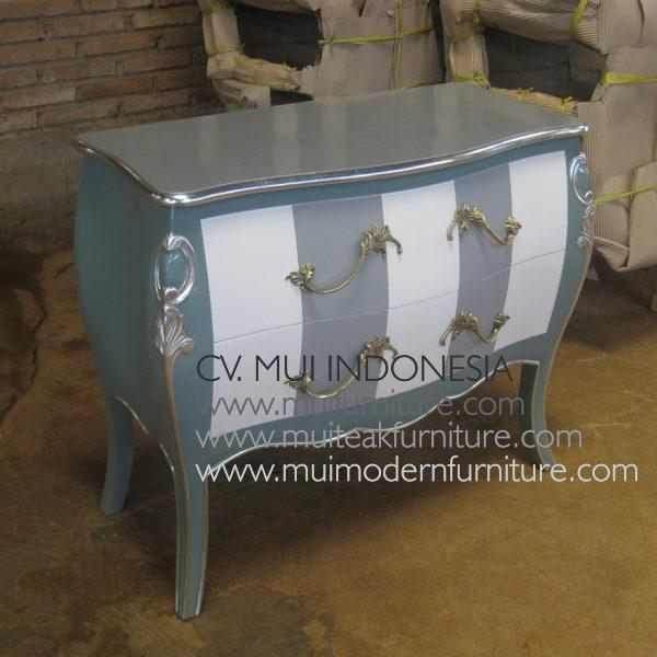 Commode Double strip 2 Drawer