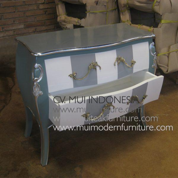 Commode Double strip 2 DrawerCommode Double strip 2 Drawer