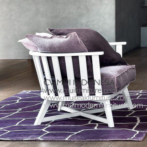 Cross Low Chair