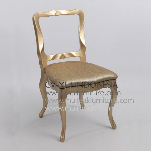 Diamond Chair -Gold