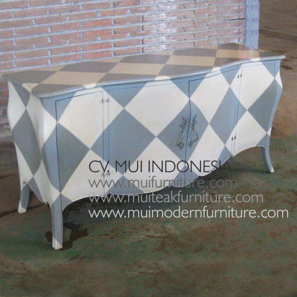 English Commode 4 Door