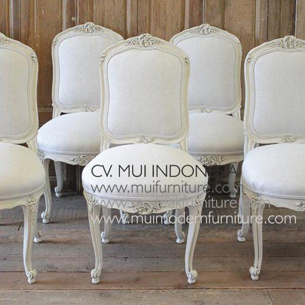FRENCH LOUIS XV DINING SIDE CHAIRS