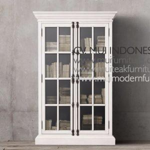 Franch Display Cabinet Double Door