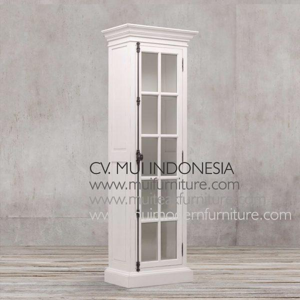 Franch Display Cabinet Single Door