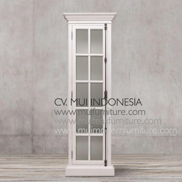 Franch Display Cabinet Single Door