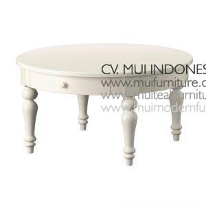 Ike Round Coffe table, Size 90Dia x 45H cm