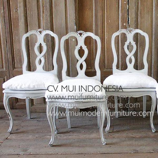 Italian Carving Dining Side Chair