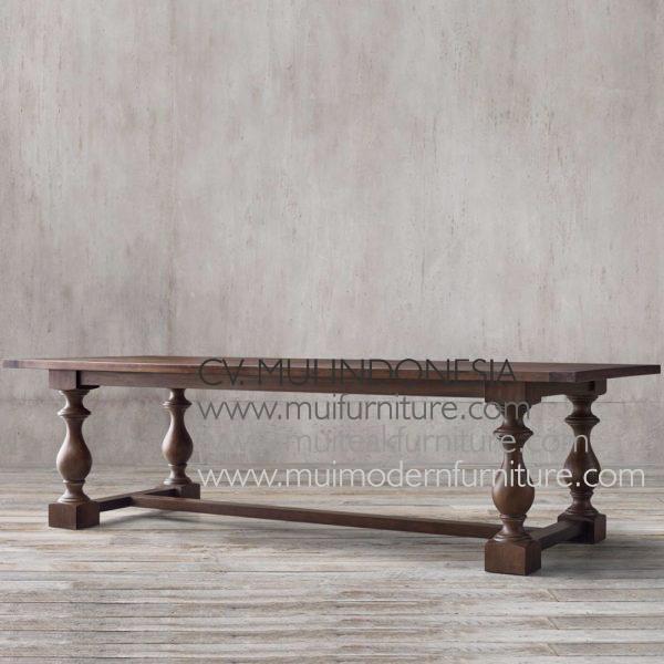 Leg Table Square