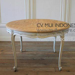 Oval French Provincial Table Extention