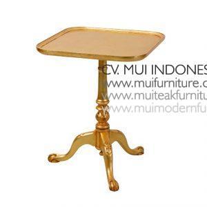 Square End Table, Size 55W x 45D x 60H cm