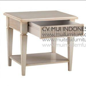 Victor End table, size 62W x 50D x 55H cm