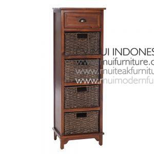 Antique Brown french style 5 Drawer