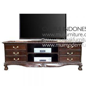 Chipendale TV Stand, Size 170W x 50D x 55H cm