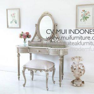 Fawn Grey Dressing Table