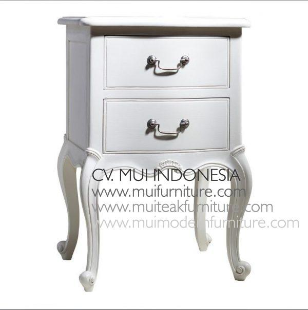 French Painted Bedside, indonesia furniture manufacturer