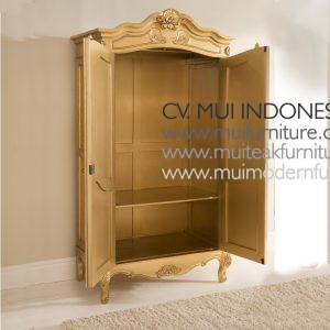Gold antique Armoire