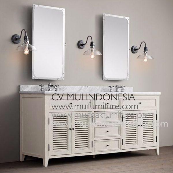 Kare Double Watafel Dresser White