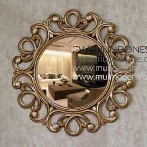 Oreo Round Mirror