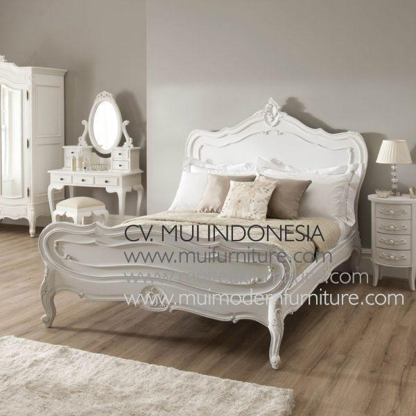 Rosella antique french, Size Single 120W x 200D cm