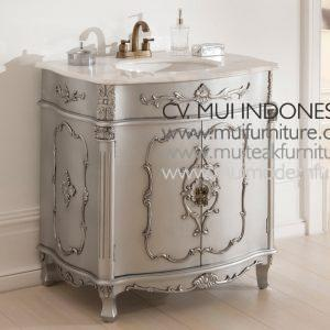 Silver Antique french Vanity