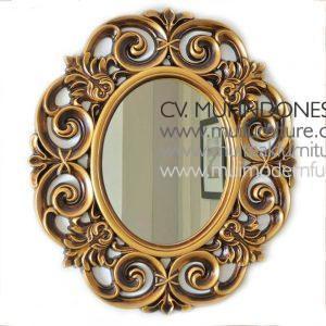 Ulir Mirror Antique Gold