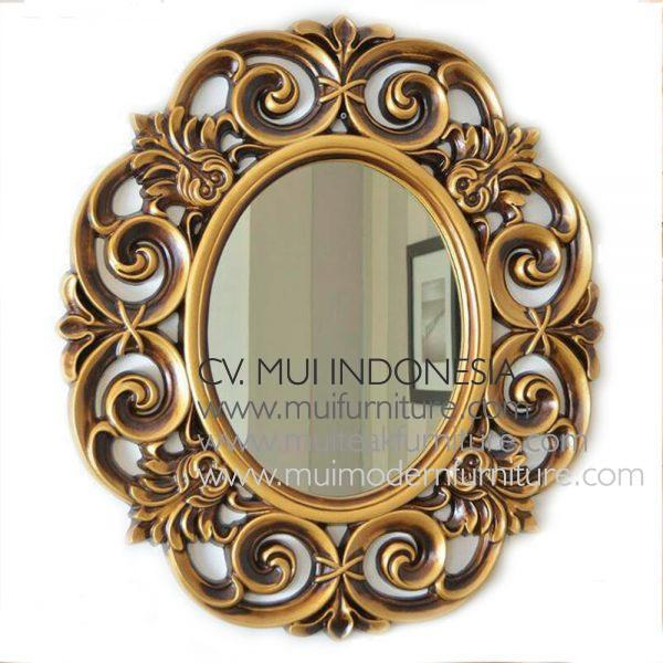 Ulir Mirror Antique Gold
