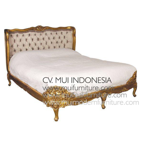 Original French Gold Bed