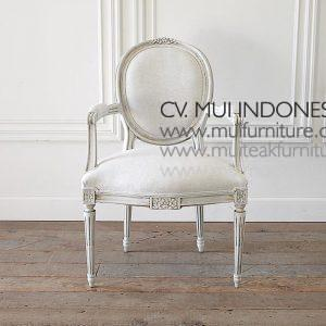 Ribbon Arm Chair Louis XVI