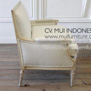 Setty Chair 2 Seater Louis XVI