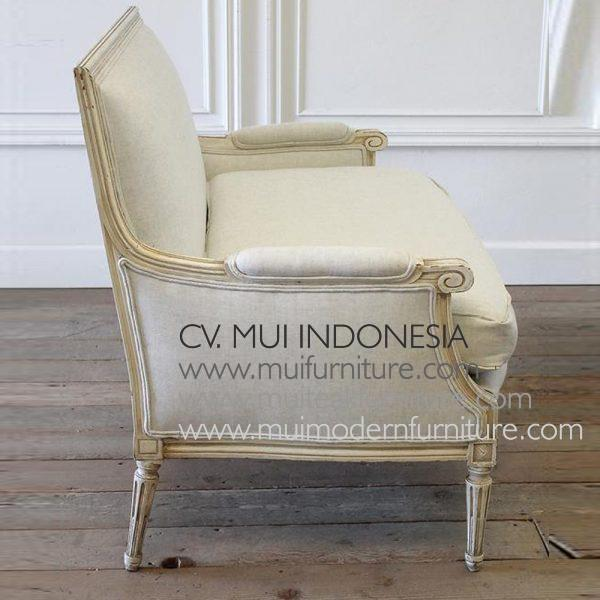 Setty Chair 2 Seater Louis XVI