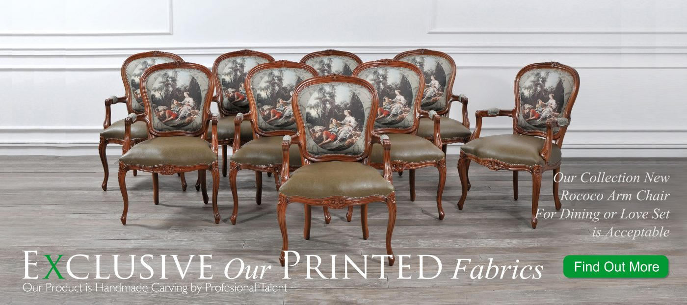Exclusive Our Printed fabrics