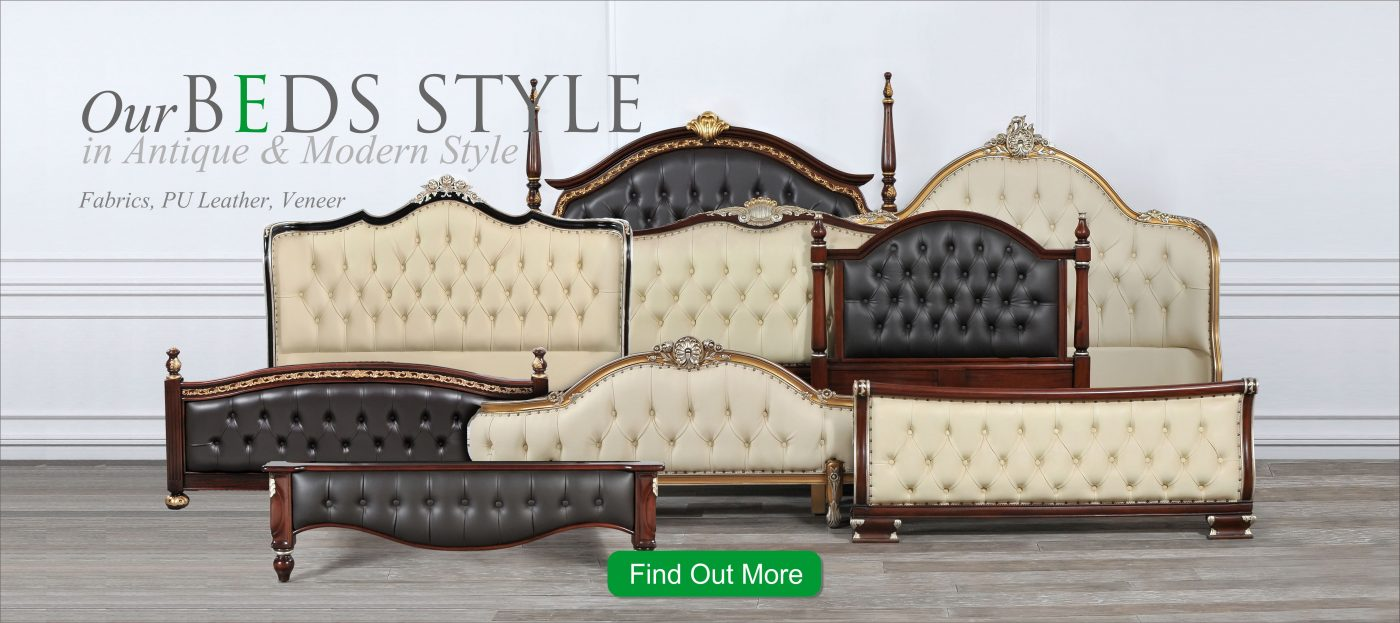 Our Bed Style in Antique & Modern Style